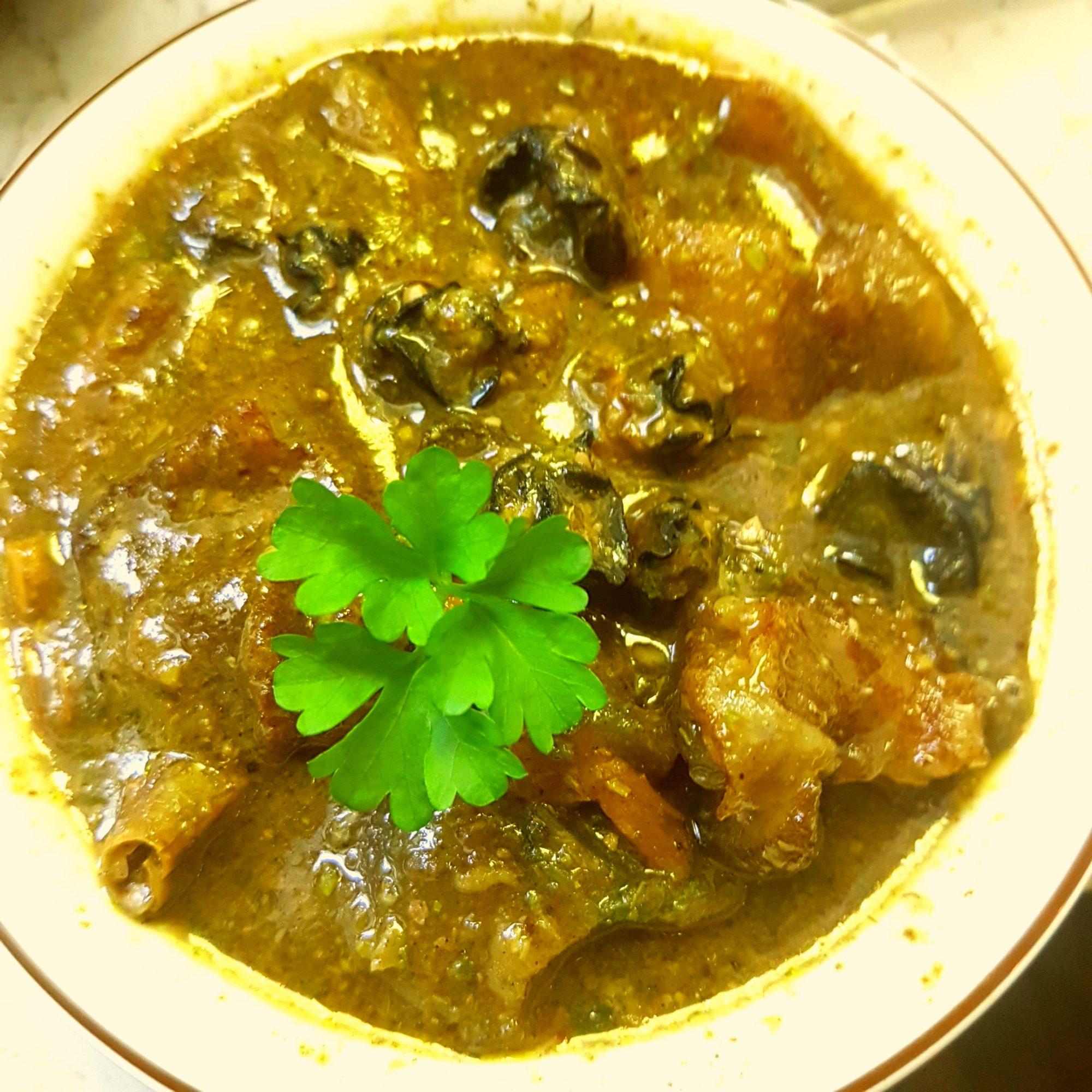 Miyan Kuka and Tuwo Shinkafa,my grandmother Hausa soup recipe ...